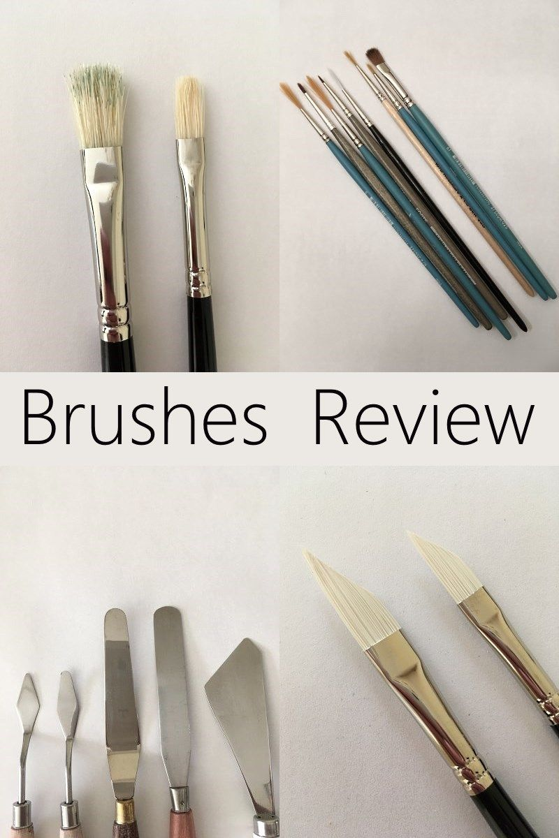 Types of Oil Painting Brushes (With images) Oil painting