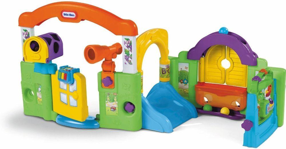 Activity Garden Playhouse Little Tikes Baby Toddler Playset Indoor Outdoor New Littletikes