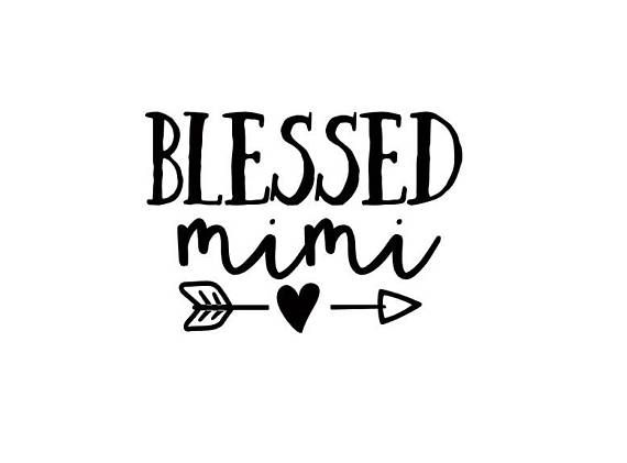 Download Blessed Mimi Decal - Blessed Mimi Sticker - Window Decal ...