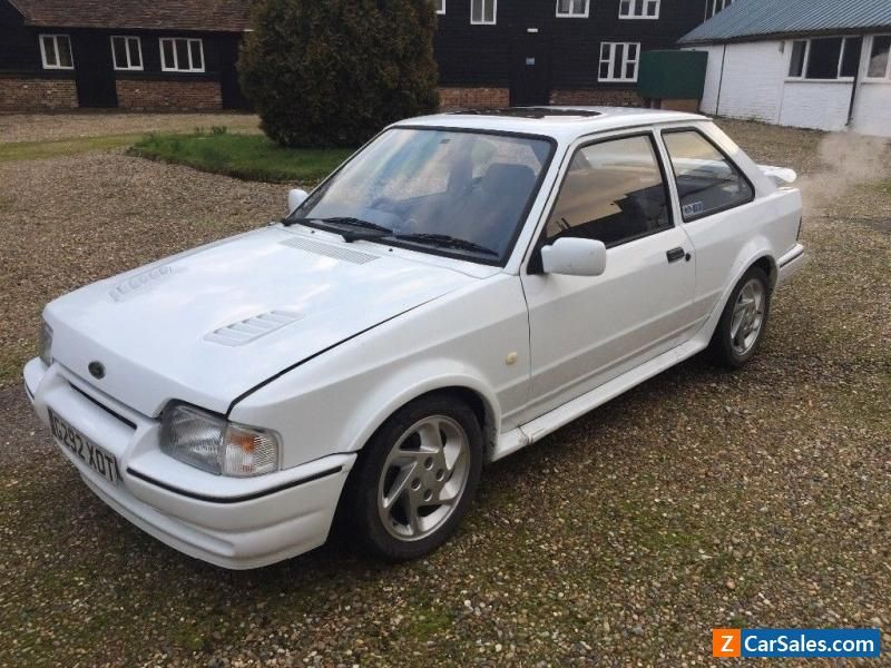 Ford Escort Rs Turbo Series 2 Ford Rs Forsale Unitedkingdom