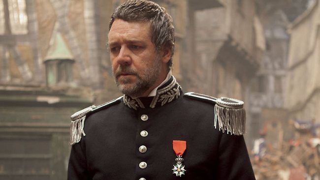 Inspector Javert played by Russell Crowe from the film.