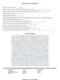 Resultado De Imagem Para Atividade Sobre Os Hebreus Caca