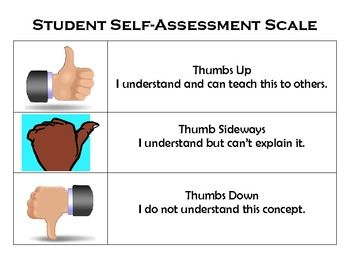 Marzano Style Self Assessment  Self Assessment