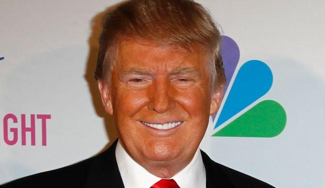 trumps bad tan