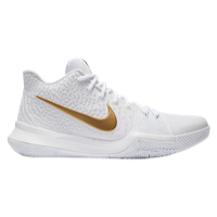 adc6d3b93424 Nike Kyrie 3 - Men s - Kyrie Irving - White   Gold
