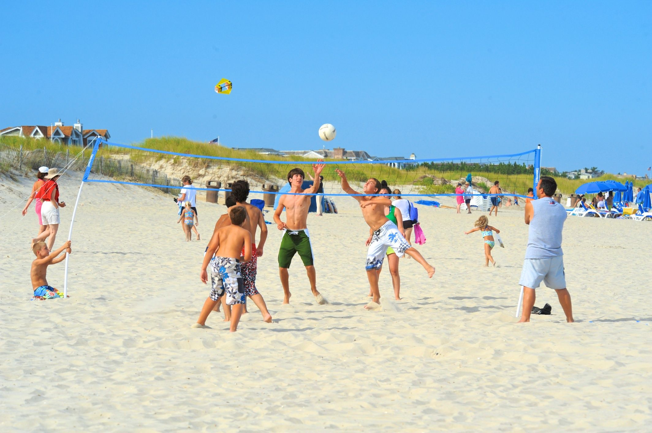 Beach Volleyball Is Always Fun In Summer Cape May Point Ocean City Jersey Cape Cape May County New Jersey Cape May County Cape May Cape May Point