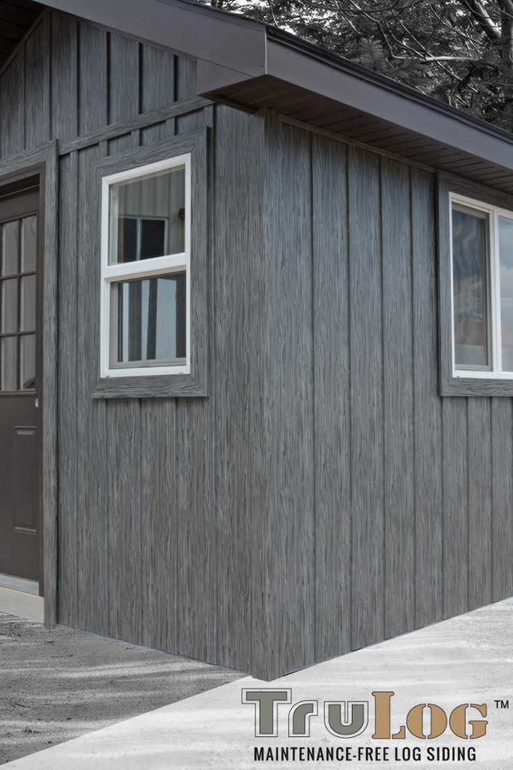 Trulog Steel Siding Steel Siding Barn Siding Metal Siding Colors