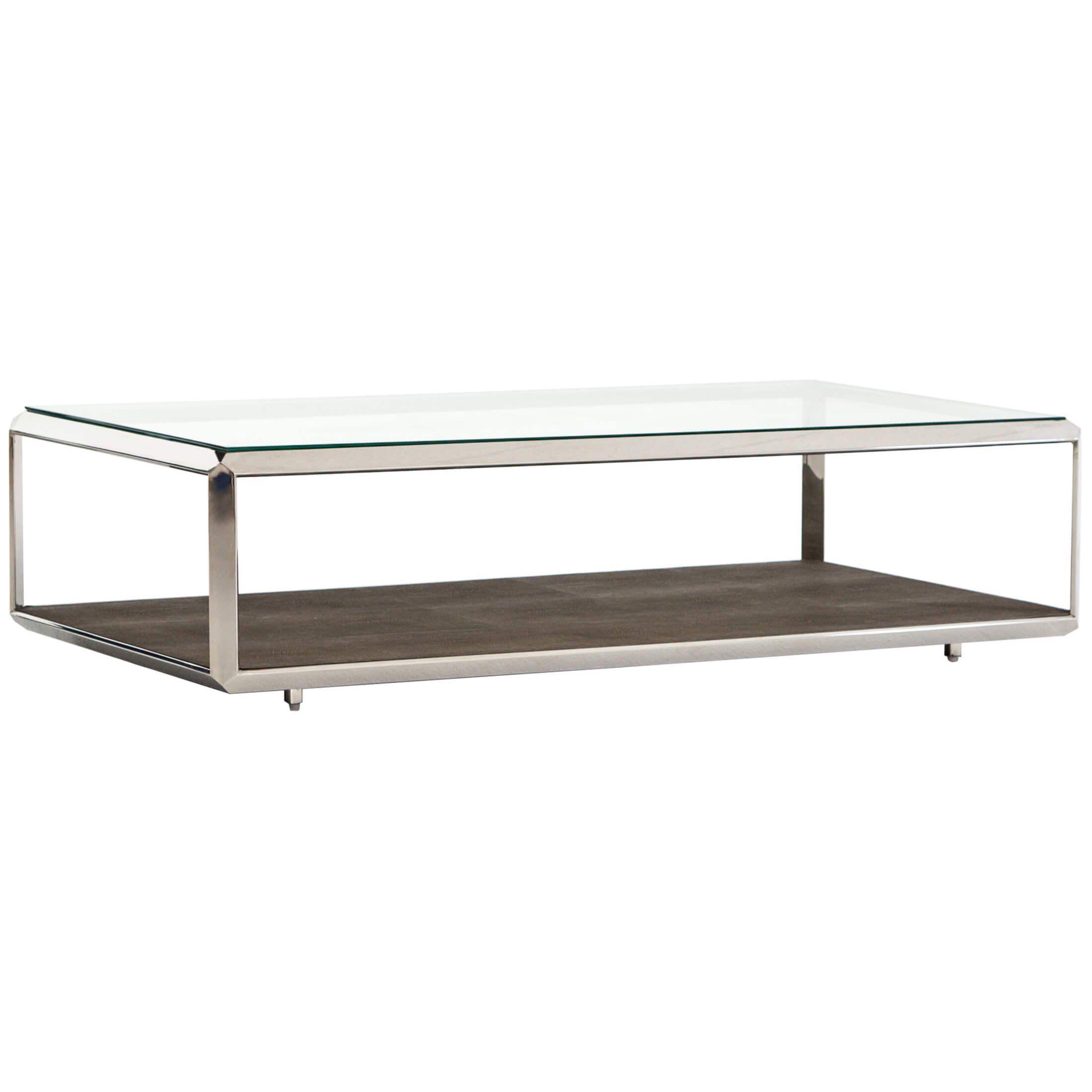 Shagreen Shadow Box Coffee Table Steel Furniture 18