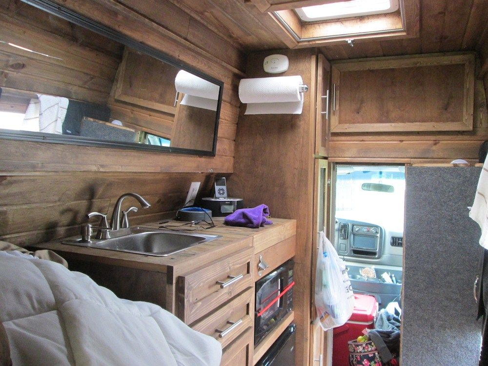 I Bought A 2001 Chevy Express Van With A High Top Roof For