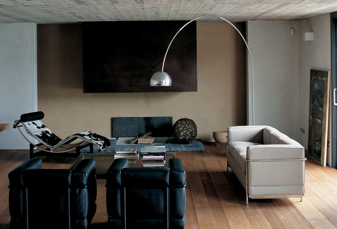 Sofa, Armchair: Cassina \