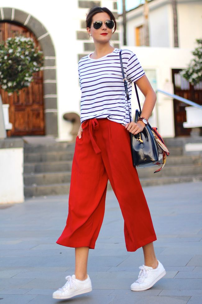 87ce5c194f Marilyn s Closet - FASHION BLOG  Culottes and Sneakers