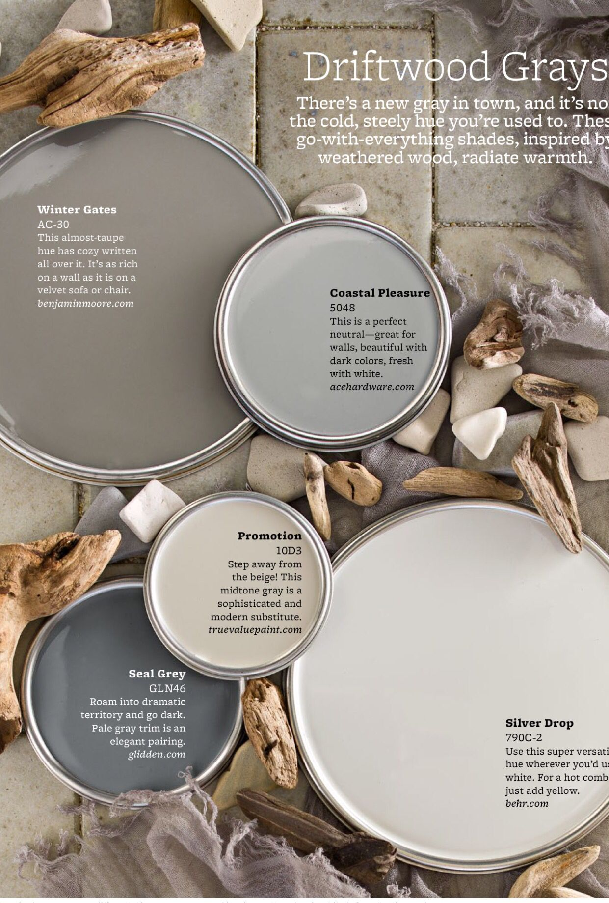 Grey Paint Colors Bhg Favorites Paint Colors For Home Neutral