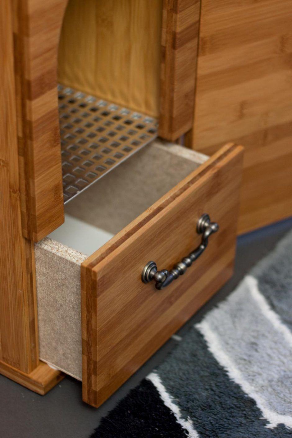 katzenklo detail 4 1 katzen pinterest cat litter box and animal. Black Bedroom Furniture Sets. Home Design Ideas