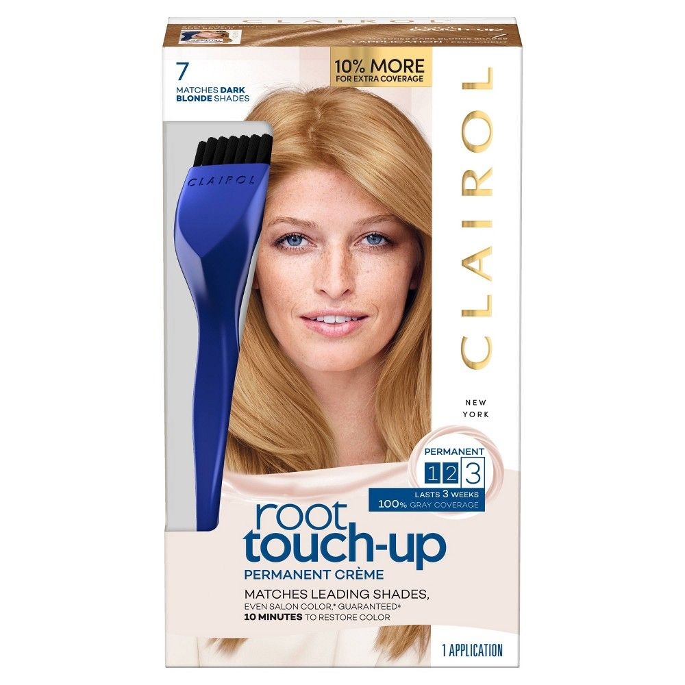 Clairol Root Touch Up Permanent Hair Color 8g Medium Golden