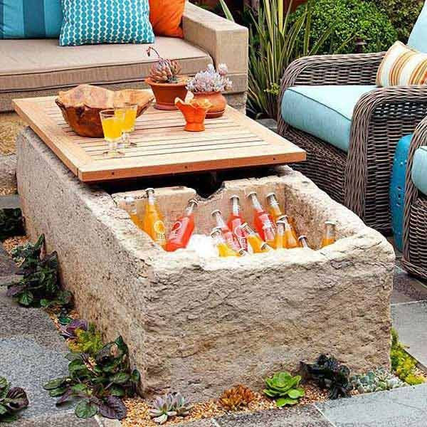 Captivating 19 Clever DIY Outdoor Cooler Ideas Let You Keep Cool In The Summer