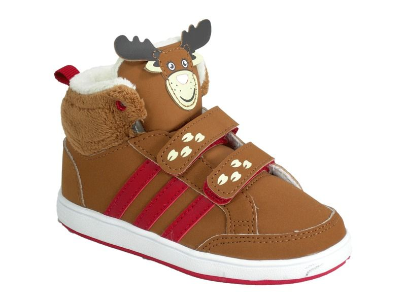 Adidas Neo Label Reindeer Toddlers Kids Cool Mid Shoes In Sizes 3k 4k 6k 7k  7.5