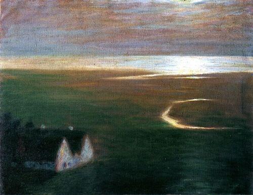 Moonlight Emile Nolde - 1903