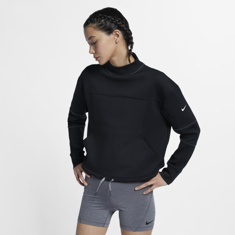 Nike Dri Fit Women S Long Sleeve Cropped Training Top Black Training Tops Gym Tops Fit Women Shop for dri fit pants online at target. pinterest