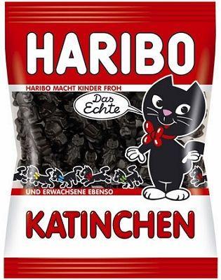 Haribo Katinchen 200g Licorice Kittens 7oz Haribo Gummy Candy Licorice