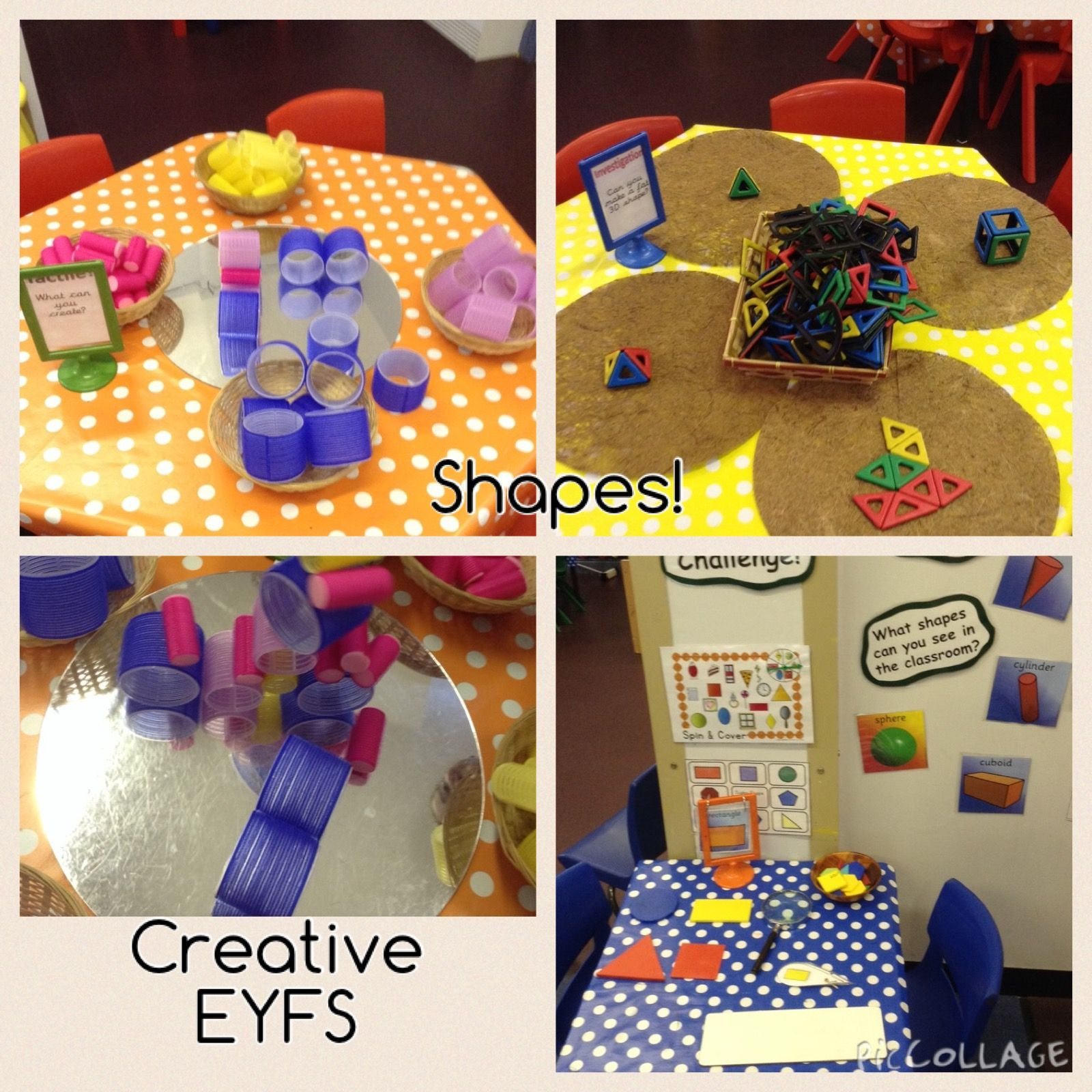 Eyfs Shape Activities