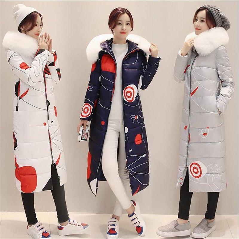 7cf2d0a8b81b New Winter jacket women 2016 Women s down Cotton parka Warm Jacket ...