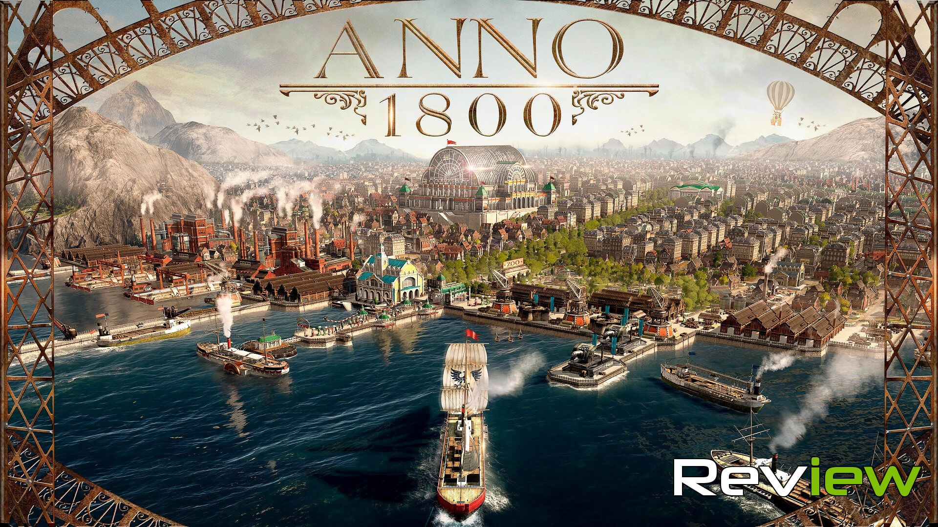 Anno 1800 Review A Return To Form Ubisoft Real Time Strategy Torrent
