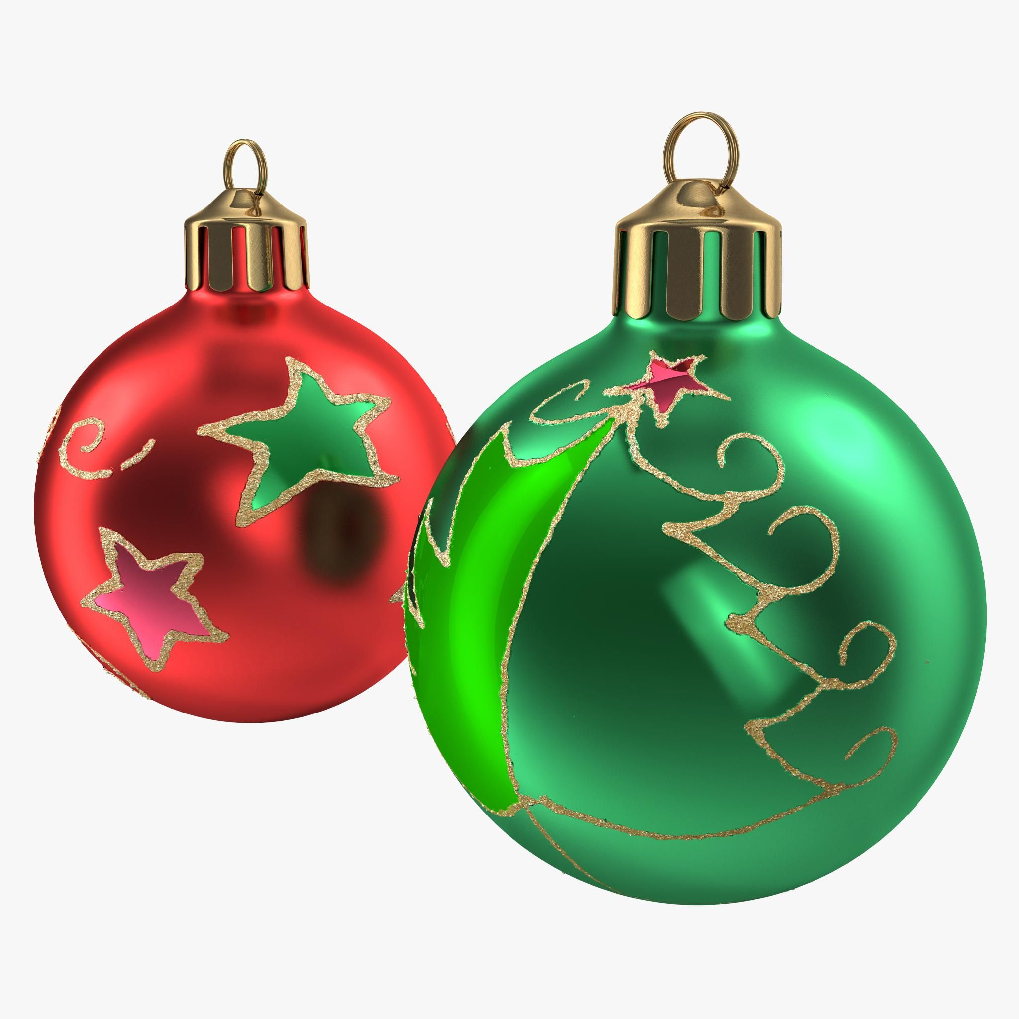 Christmas Ornament Balls 1 3d Model Ad Ornament Christmas Model Balls Christmas Ornaments Ornaments Christmas Bulbs