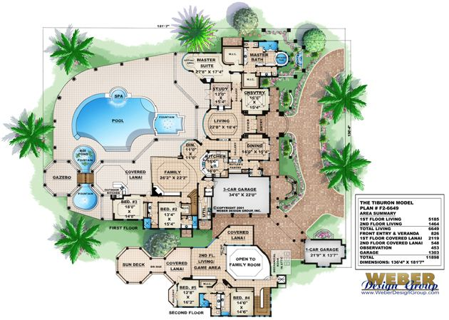 Mediterranean Floor Plan Tiburon Floor Plan Like This