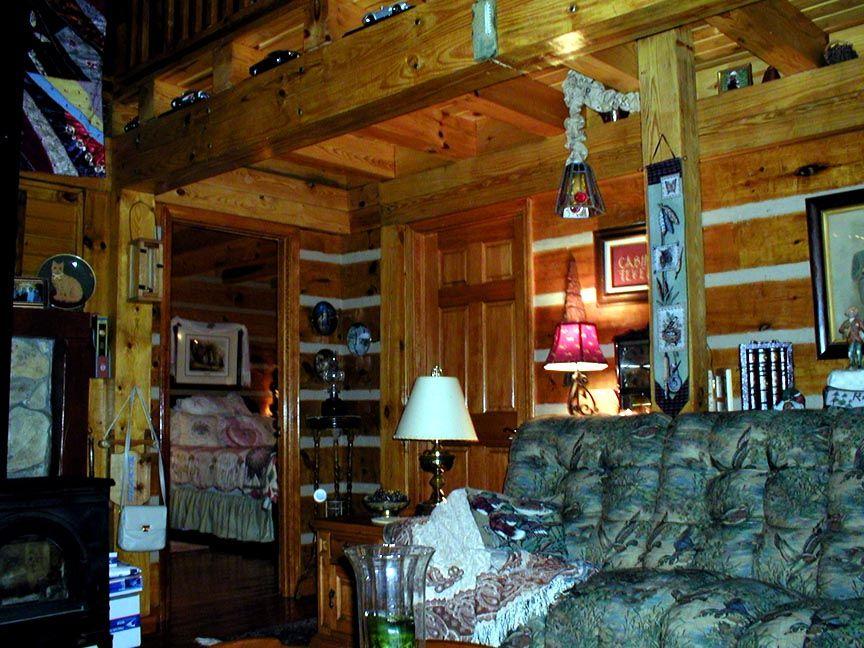 Old Log Cabin In Asheville NC