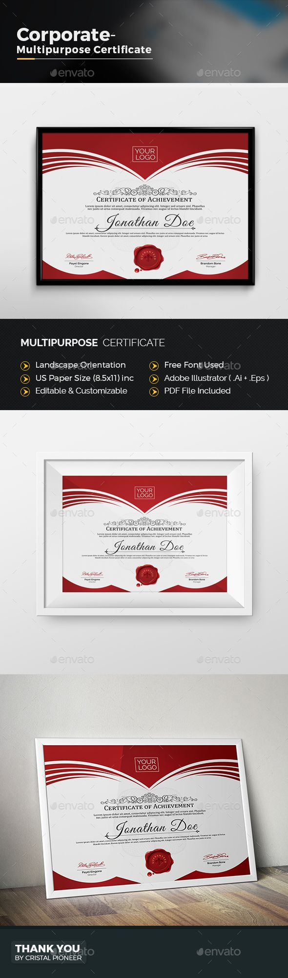 Multipurpose certificate certificate text color and adobe multipurpose certificate yadclub