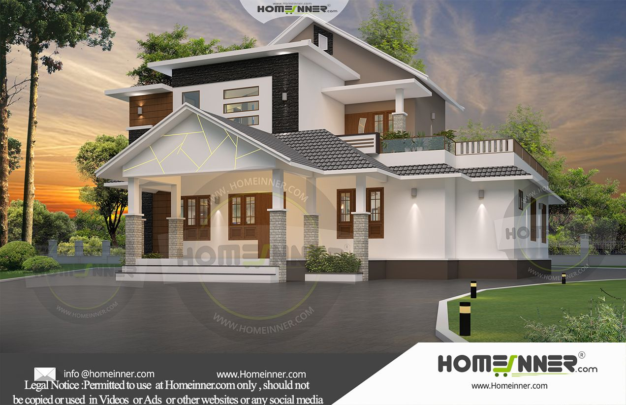 Low Budget Kerala Home Designers Constructions Companies Thrissur House Plans Online Free House Plans Custom Home Plans