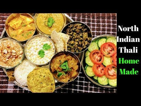 Punjabi thali recipe north indian thali lunch menu ideas punjabi thali recipe north indian thali lunch menu ideas youtube recipes to cook pinterest lunch menu menu and lunches forumfinder Images