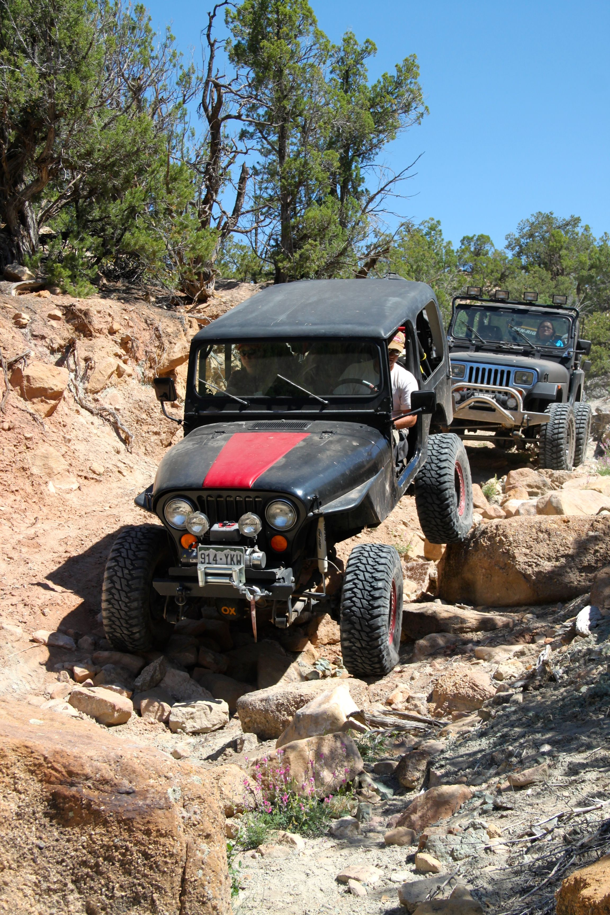 Cjs Are Still Showing How It S Done Jeep Life Jeep Trails Jeep Cj