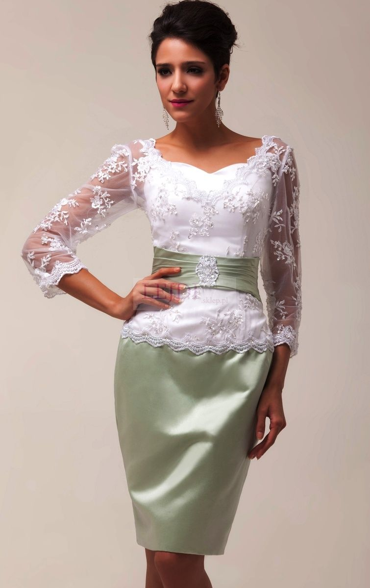 Sukienka Na Wesele Np Dla Matki Panny Młodej Matki Pana Młodego