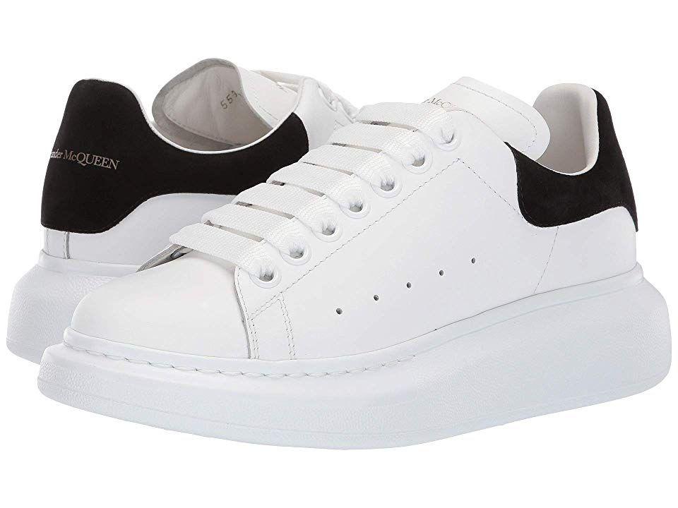 Alexander Mcqueen Oversized Sneaker Women S Shoes White Black Alexander Mcqueen Oversized Sneakers Sneakers Alexander Mcqueen