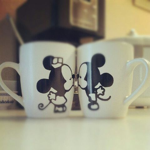 Cute Mouse Design On Coffee Mugs