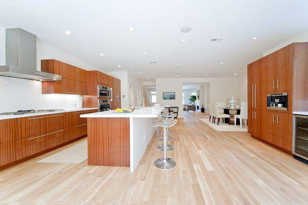 Merveilleux Custom Kitchen Cabinets  Sapele Natural Wood