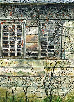 Barn Window by Paula Nathan