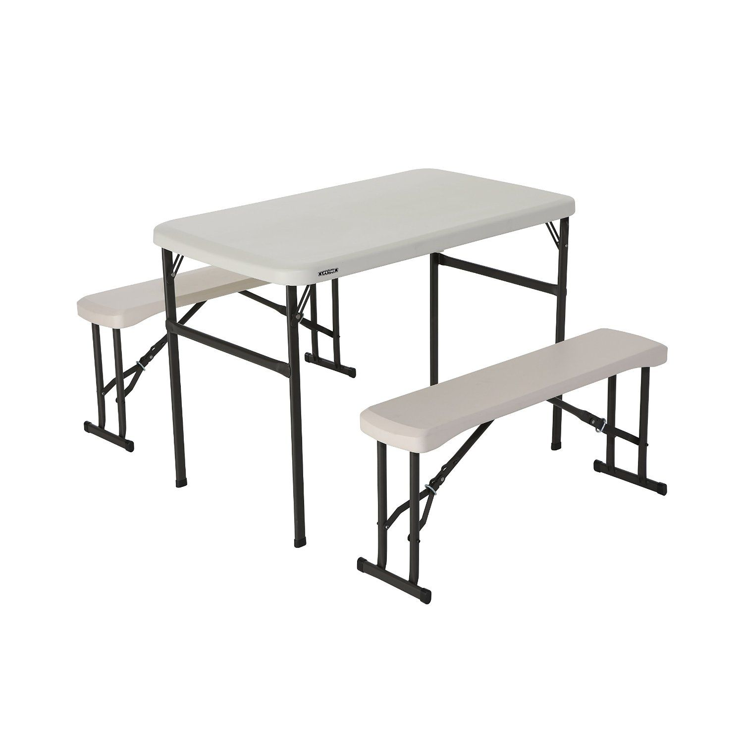 "Camping Furniture ""Lifetime Portable Folding Picnic Table"