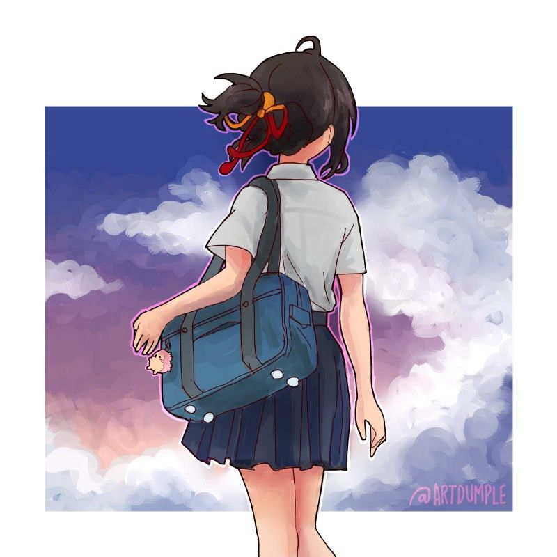 Pin de ダヒヤナ💖🇧🇴 em Kimi No Na Wa - Taki y Mitsuha (Your