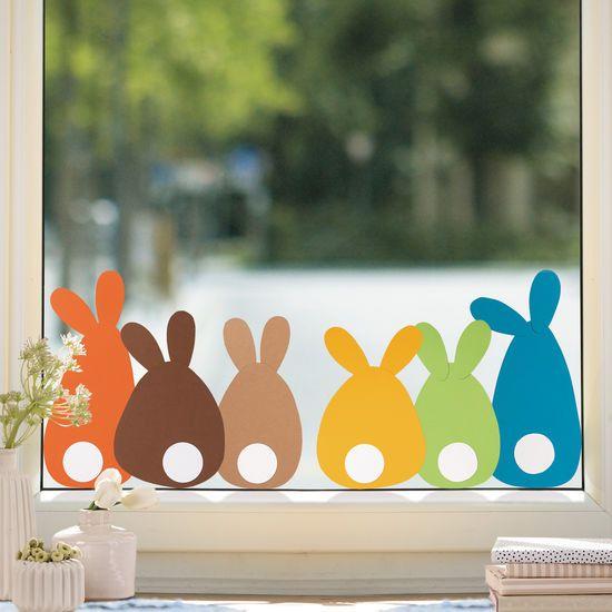 Sachenmacher Fensterbilder Erstes Schneiden – Ostern » JAKO-O