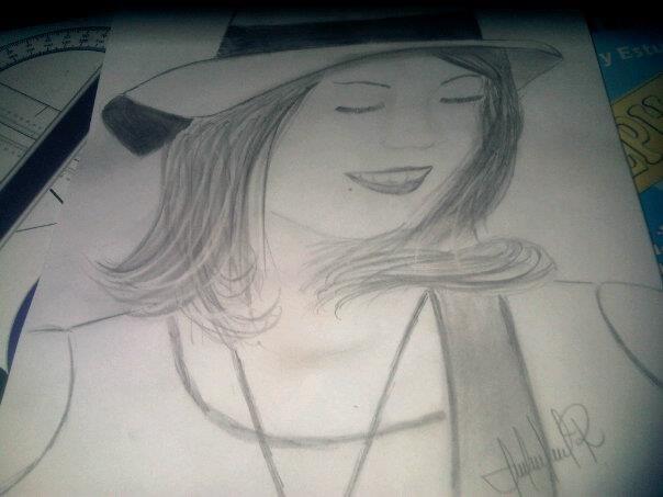 boceto de mujer