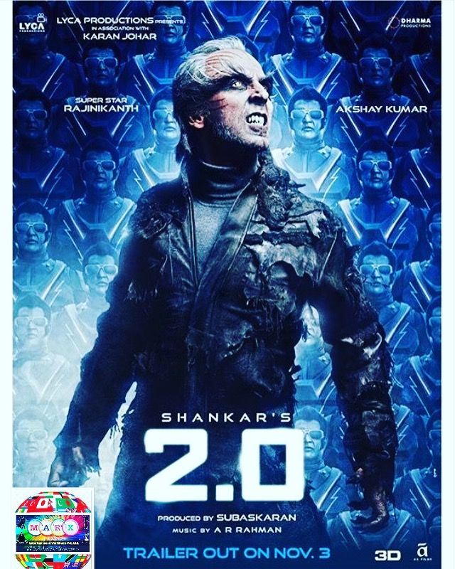 @# SHANKAR'S 2.0 # AKSHAY KUMAR # RAJNIKANTH # TRAILER OUT
