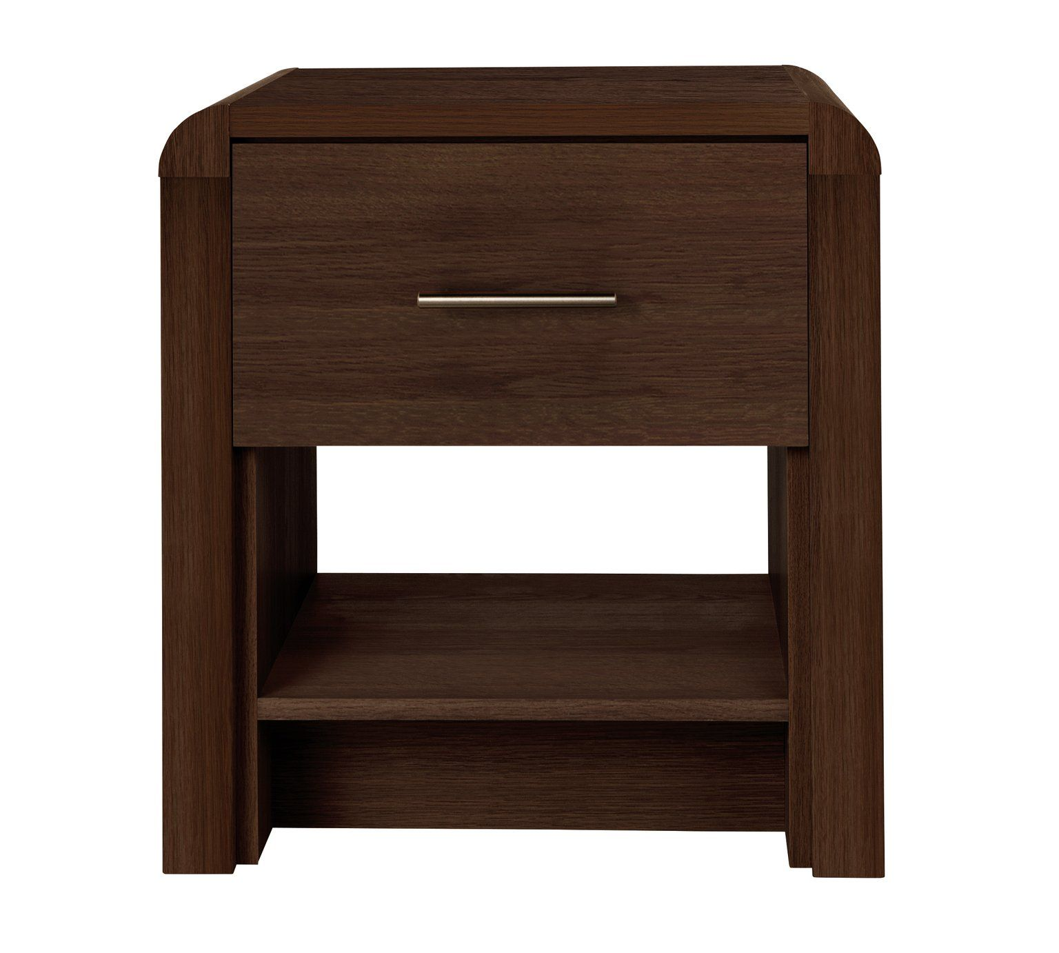 Heart Of House Elford Lamp Table Walnut Effect At Argos Co Uk