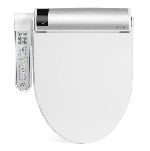 Biobidet Bliss Bb 1700 Elongated White Bidet Toilet Seat With Warm
