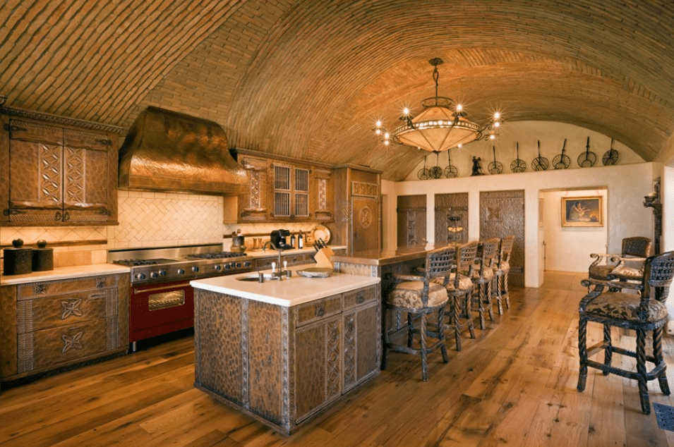 30 Best Kitchens With Vaulted Ceilings | Vaulted ceiling ...