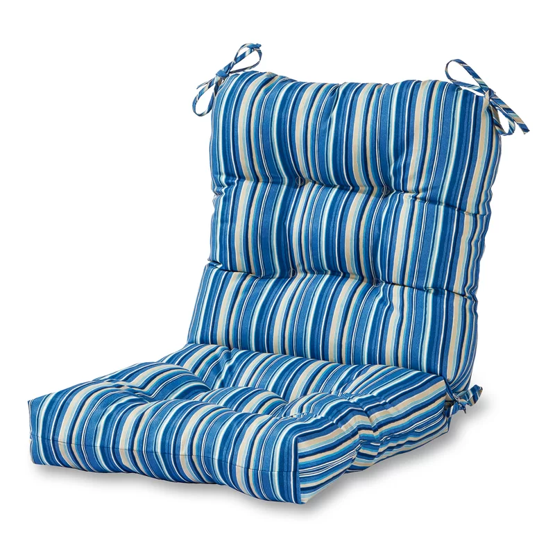Indoor/Outdoor Chair Cushion Outdoor dining chair