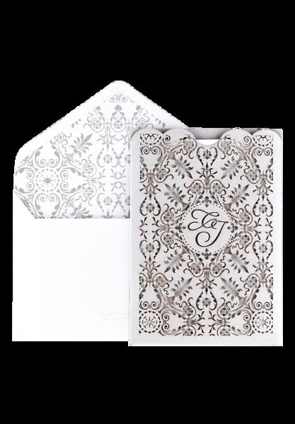 Whisper Invitation - Silver Foiled Edition