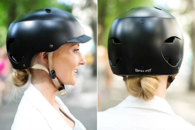 No Helmet Hair Here 19 Hairstyles You Can Wear Under Your Bike Helmet Helmet Hair Motorcycle Hairstyles Bike Helmet