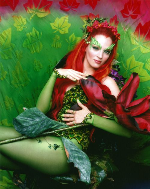 best 25  uma thurman poison ivy ideas on pinterest